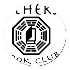others book club Round Car Magnet