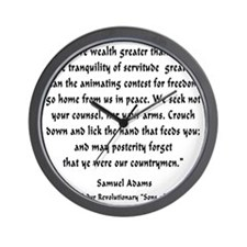 s_a_countrymen Wall Clock