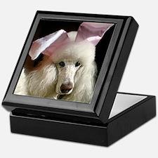Hefner poodle Keepsake Box