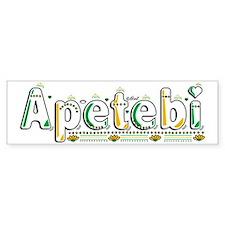 Apetebi Bumper Sticker
