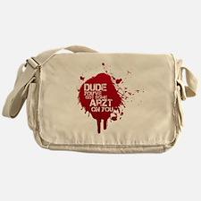 ArztSplat01 Messenger Bag