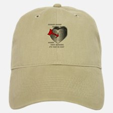 anti Valentine's Day Baseball Baseball Cap
