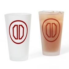 31st Infantry Division Drinking Glass