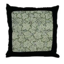 William Morris Bramble Throw Pillow