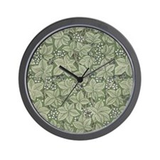 William Morris Bramble Wall Clock