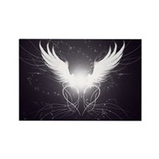 2-wings2.5 Rectangle Magnet