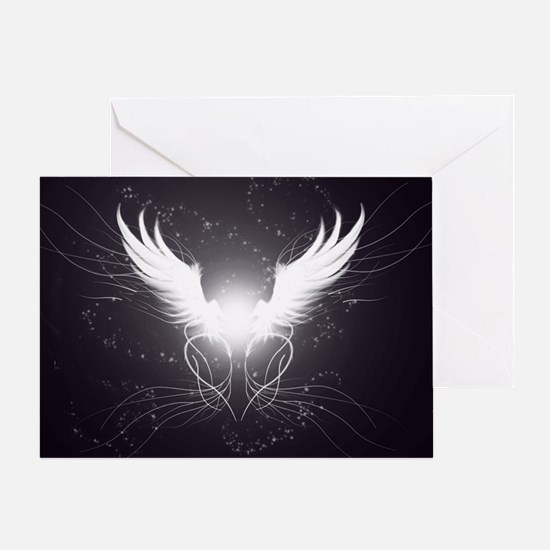 2-wings2.5 Greeting Card