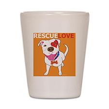 Rescue Love Shot Glass