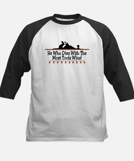 Dies with most tools Kids Baseball Jersey