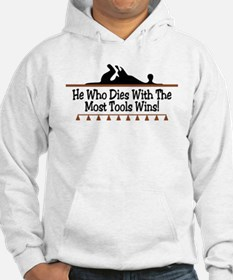 Dies with most tools Jumper Hoody