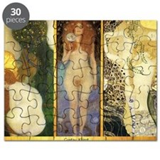 Gustav Klimt - Ladies of the Water Collage Puzzle