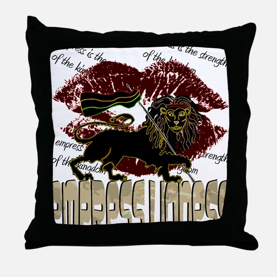 lioness2-1 Throw Pillow