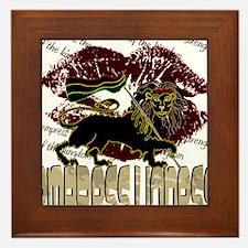 lioness2-1 Framed Tile