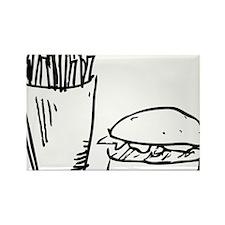 od_friesburger Rectangle Magnet