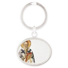 Clement of Rome Oval Keychain