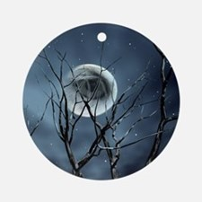 view in the night Ornament (Round)