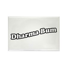 dharmabum2_CPDark Rectangle Magnet
