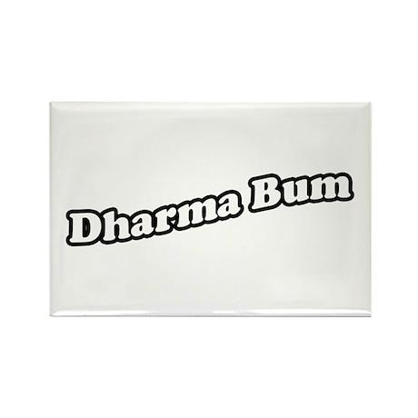 dharmabum2_CPDark Rectangle Magnet