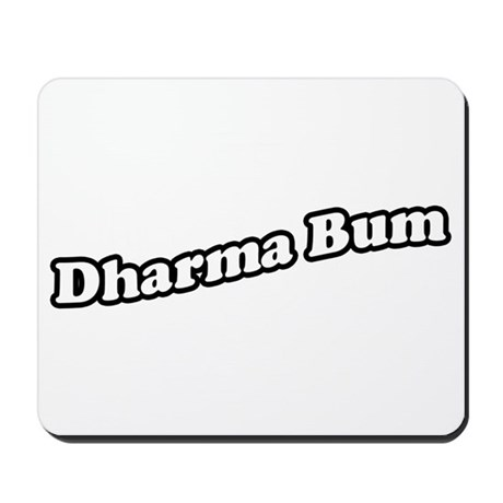 dharmabum2_CPDark Mousepad