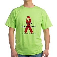"""""""AIDS Awareness"""" T-Shirt"""