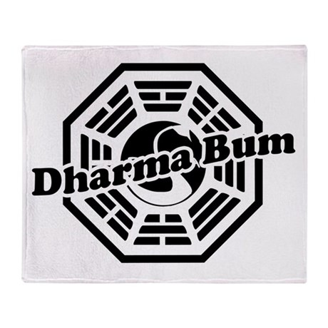 dharmabum2 Throw Blanket