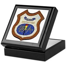 walker patch transparent Keepsake Box