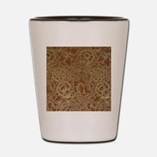 William Morris Poppy design Shot Glass