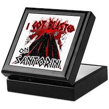 blastd_in_santorini Keepsake Box