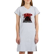 blastd_in_santorini Women's Nightshirt