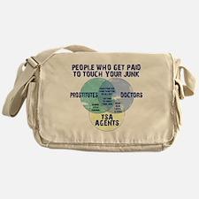touchingjunK Messenger Bag