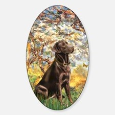 Spring - Chocolate Lab 11 Decal