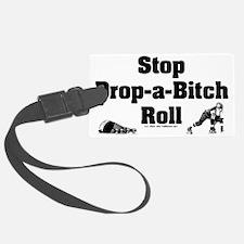 derby_stop_drop_roll_b Luggage Tag