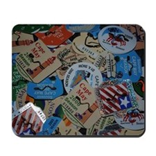 cm beach tags Mousepad