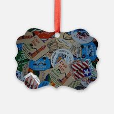 cm beach tags Ornament