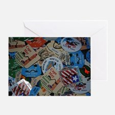 cm beach tags Greeting Card