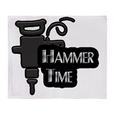 hammertim Throw Blanket
