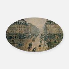 Avenue de LOpera, Paris by Camille Oval Car Magnet