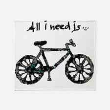 Need Biking Throw Blanket