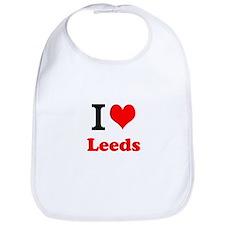 Bib I Love Leeds