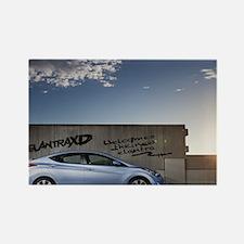2011-elantra-wallpaper-2 Rectangle Magnet