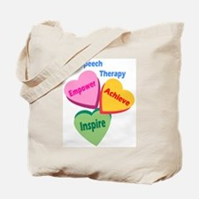 ST Multi Heart Tote Bag
