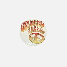 GERONIMOJACKSONPEACE Mini Button