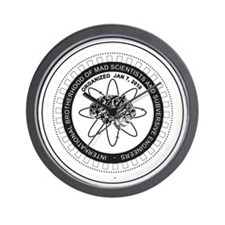 Mad Scientist Union Logo B Wall Clock