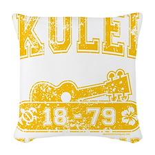 Ukulele Real Standard Woven Throw Pillow