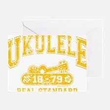 Ukulele Real Standard Greeting Card