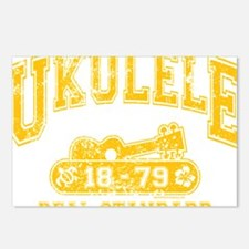 Ukulele Real Standard Postcards (Package of 8)