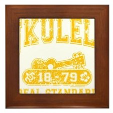 Ukulele Real Standard Framed Tile