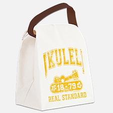 Ukulele Real Standard Canvas Lunch Bag
