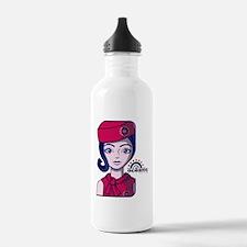 Stewardess_8x10 Water Bottle