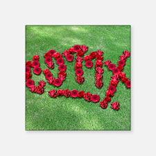 """CO77X 66 Roses_mpad Square Sticker 3"""" x 3"""""""